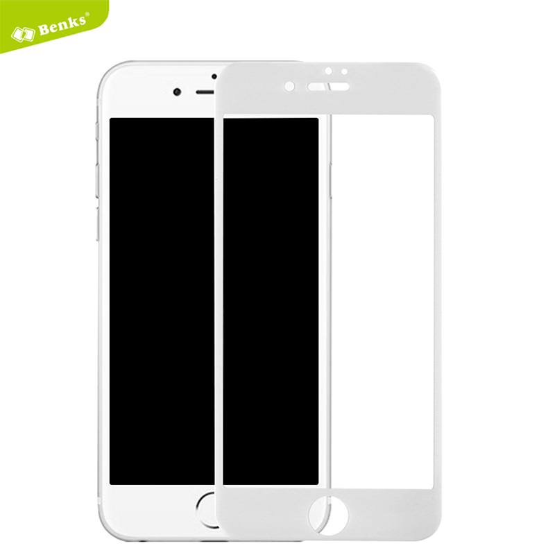sfor Apple iPhone 7 <font><b>Tempered</b></font> <font><b>Glass</b></font> <font><b>Benks</b></font> <font><b>KR</b></font>+<font><b>Pro</b></font> 3D <font><b>Curved</b></font> Full Cover Explosion Proof <font><b>Screen</b></font> Protector for iPhone 7 Plus