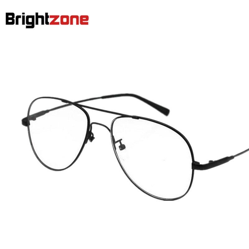 Nova chegada melhor venda aviatoor metal completo flexível ponte & templo óculos ópticos quadro óculos de grau