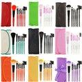 Pro 7 pçs/set Pincel de Maquiagem Beleza Manicure Sombra Blush Lip Sobrancelha Pestana Maquiagem Blending Fundação Ferramentas de Maquiagem Cosméticos