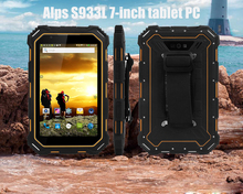 Alps S933L 7-inch tablet PC 1280*800 240dpi 2GB/16GB 7000mAh 4G/WIFI/BT Multi-languauge IP68 waterproof Android 5.1 e-book смартфон oukitel c8 4g black 4 core 1 3ghz 2gb 16gb 5 45 1280 640 13mp 2mp 2sim 3g 4g bt wifi gps android