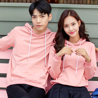2018 New Cotton Hoodies Women and Man Both Wear Unisex Long Sleeve O Neck Hoodie