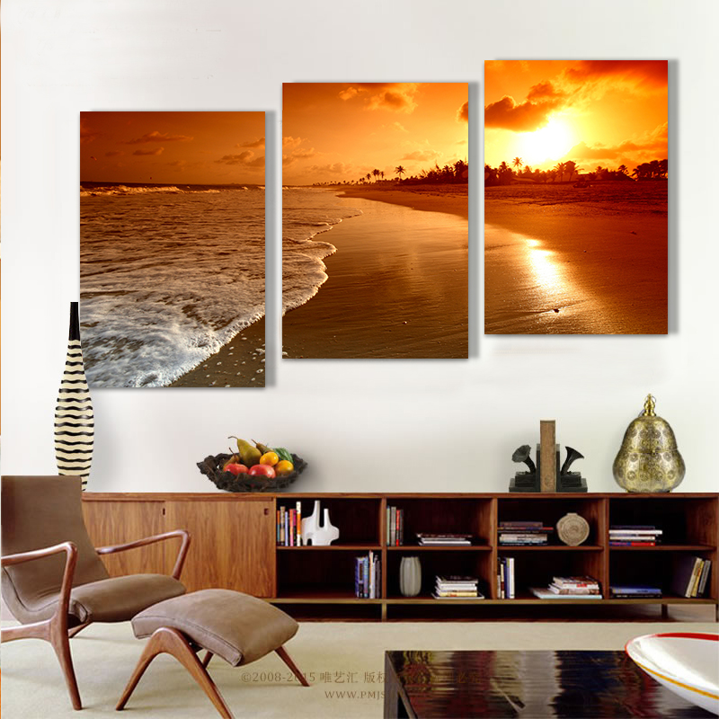 Hot Sale Beach Oil Painting Printed Painting Oil Painting On Canvas Oil Painting For Home Decor