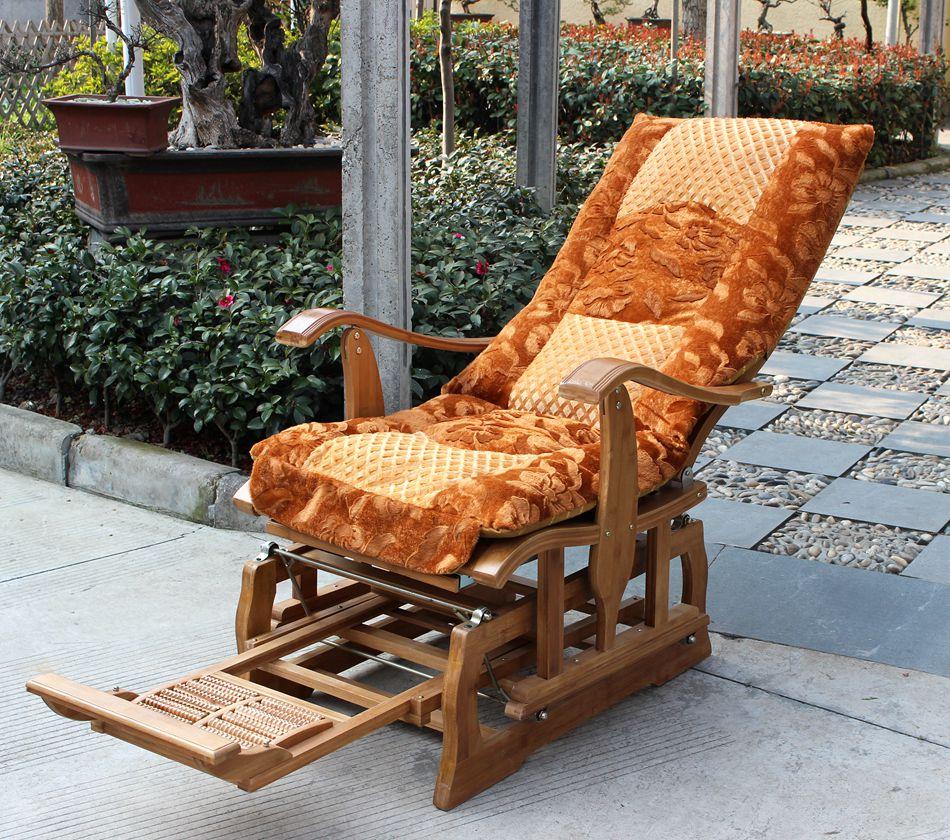 die neue bambus stuhl schaukel schaukel liegestuhl glücklich ältere