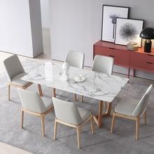 U-BEST деревянная основа современный дизайн продажи искусственного мрамора обеденный стол, Роскошный домашний интерьер архитектурный дизайн обеденный стол набор