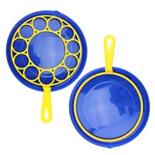3pcs/Set Big Bubble Dish Round Tool Soap Maker Blower Set Outdoor Toy Kids Gifts Wedding DIY Photo Props