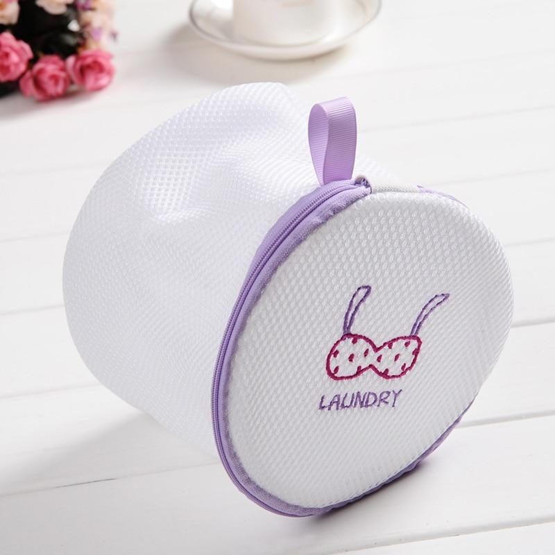 Lingerie Washing Home Use Mesh Clothing Underwear Organizer Washing Bag Useful Mesh Net Bra Wash Bag Zipper Laundry Bag