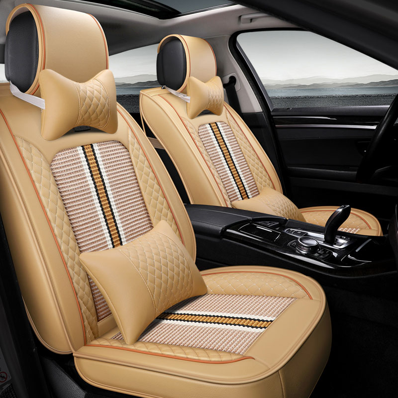 New car seat covers Universal auto seat protector mat for benz mercedes w212 w213 w220 w221 w222 w245 w460 B250 car accessories