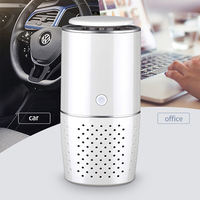 Fresh Portable Negative Ion Air Cleaner Car Low Noise Multifunctional Rechargeable Smart Mini Office ABS Air Purifier Interior
