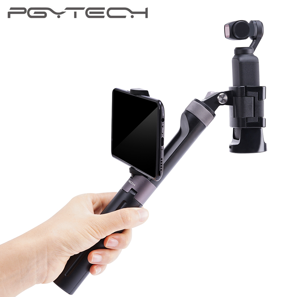 PGYTECH Osmo Pocket Selfie Stick Hand Grip amp Tripod for Osmo Pocket for Gopro Hero 6