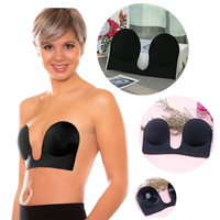Hot Sales Sexy Push Up Bra Silicone Invisible Intimates Women Breast Petals Strapless Adhesive Soutien Gorge