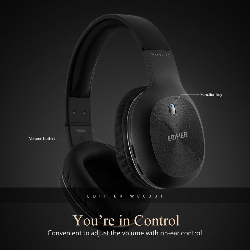 Edifier W800BT Bluetooth Casque Casque Stéréo Sans Fil Écouteur pour iPhone Android Téléphone Ordinateur fone de ouvido - 5