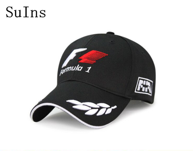 2018 formula 1 Baseball Caps for men Black F1 Embroidery Hats Car  Motorcycle Racing MOTO GP Caps Outdoor Sports Sun Hat gorro d939757a4b1