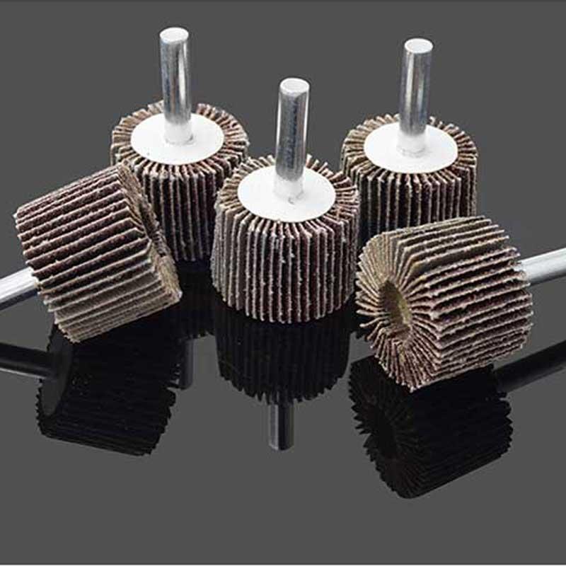 10 tk klapiga monteeritud rattapesa metalli poleerimispea - Abrasiivtööriistad - Foto 5