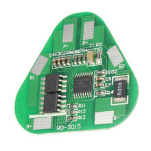 2017 New 1 PCS 3 Li-ion Lithium Battery Protection Circuit Board 3 Cell PCB 10.8V 11.1V 12.6V Short circuit protection