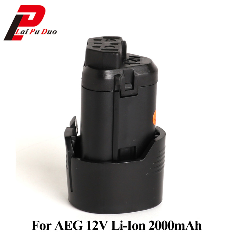 for aeg 12v 2000mah li ion replacement power tool battery. Black Bedroom Furniture Sets. Home Design Ideas