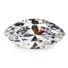 50pcs 2x3mm~13x18mm AAAAA Marquise Shape Cubic Zirconia Stones Cubic Zircon Gems For Diy Jewelry Making