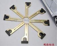 Substituição de Emergência Inteligente Cartão de Inserir Chave Lâmina Para Toyota Crown Inteligente Chave 5 Pçs/lote blade blade blade toyota blade key -
