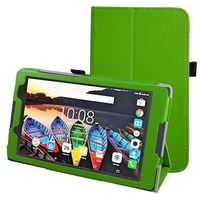 Protective Bag Folio PU Leather Case For Lenovo Tab 2 A8 50LC Litchi Case Stand Cover