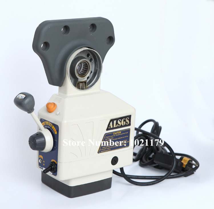 Free Shipping ALSGS AL 310S 110V 220V milling machine power feed 450 in lb power feed