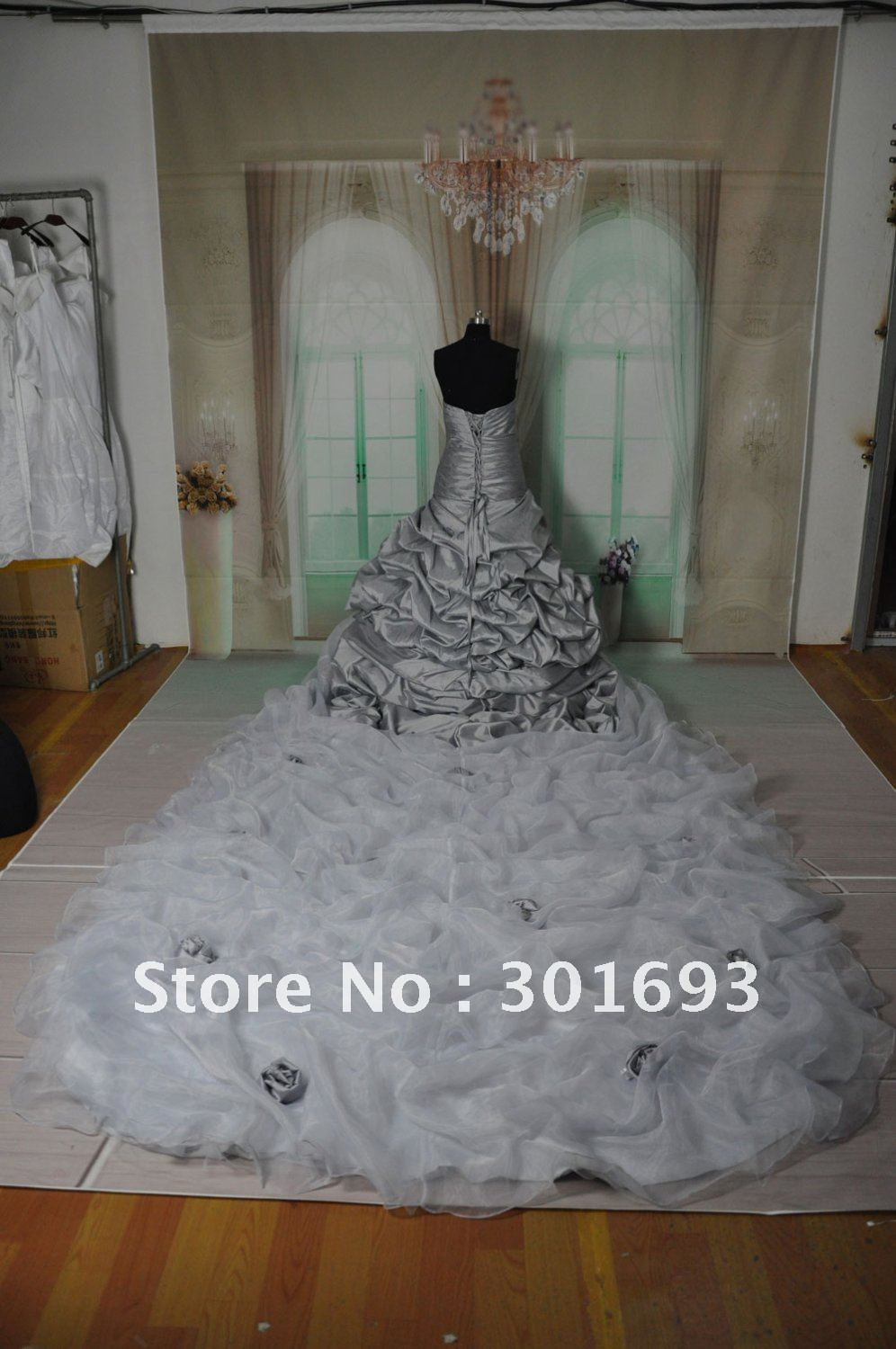 collection wedding dress long train wedding dresses 2 pcs crop wedding dress Tara mermaid cut bridal skirt with long train