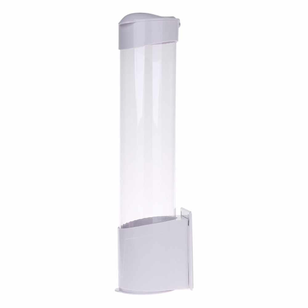 Paper Cup Holder Anti-Dust Waterproof Pull Type Cups Storage Cylinder Disposable Cup Rack Paper Cup Holder Anti-Dust Waterproof Pull Type Cups Storage Cylinder Disposable Cup Rack