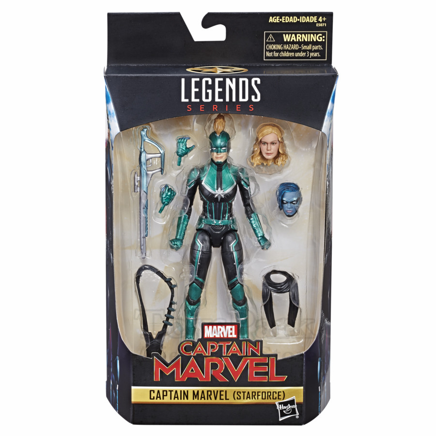 Marvel légendes 2019 film Captain Marvel Starforce 6