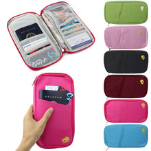 Business Credit Card Oxford Cloth Travel Multi-function Bag Passport ID Cash Wallet Purse Holder Case Document
