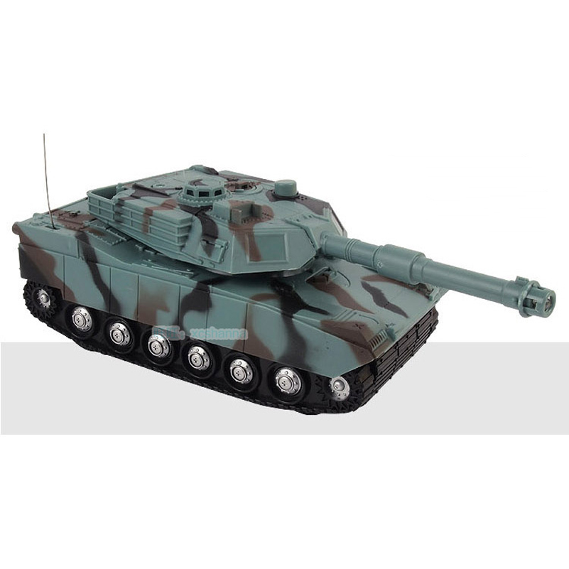 Abbyfrank RC Tank Battle Toy Tank 1:22 Radio Remote ...