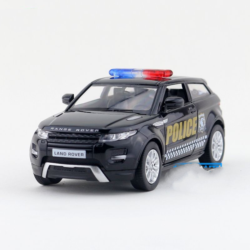 aliexpresscom buy freeshipping children uni fortune range rover evoque police model car 136 5inch diecast metal cars toy pull back kids gift from