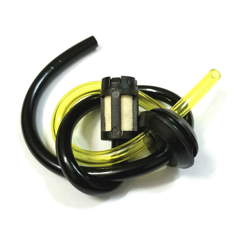 Replacement Strimmer Trimmer Brush Cutter Hose Pipe With Fuel Petrol Tank Filter