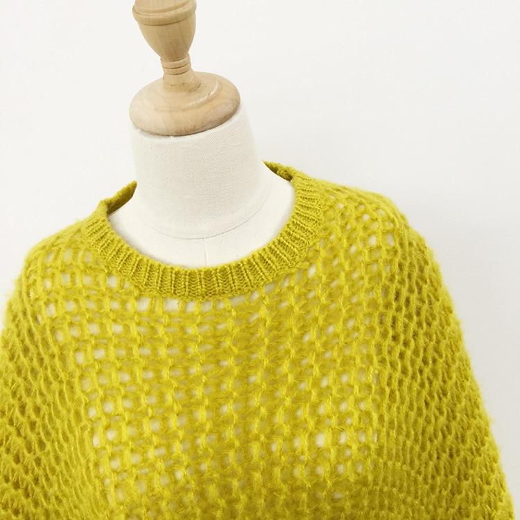 Jesen Žene pleteni pulover pulover 2018 slobodni puloveri puloveri - Ženska odjeća - Foto 4