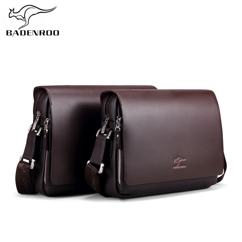 Badenroo New Arrival Brands Leather Male bag Men Business Messenger Bags Briefcase Casual Crossbody Small Shoulder Bags For Man цена 2017