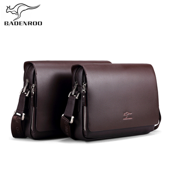 Badenroo New Arrival Brands Leather Male bag Men Business Messenger Bags Briefcase Casual Crossbody Small Shoulder Bags For Man