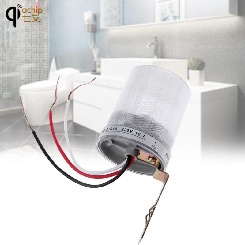 Photosensible Capteur de Mouvement Interrupteur À Bascule Rue Lumière Lampe Commutateur Auto Contrôle Photoélectrique Légère Imperméable Temps Retard Z2