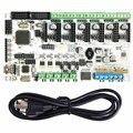 Geeetech Новый reprap 3D printer control board Румба + USB кабель лучший выбор для diy вентиляторы