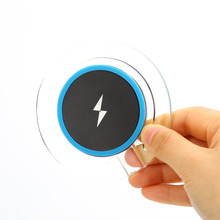 Portable Mini H8 QI Wireless Charger Pad For Apple Android Phone Charging Transmitter Charger Adapter USB Charger