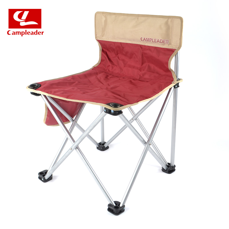 Campleader Outdoor Integral Folding Chair Mazar Camping Beach Fishing Stool Painting Stool Chair Sketch Chair CL208 bamboo bamboo portable folding stool have small bench wooden fishing outdoor folding stool campstool train