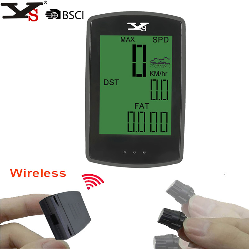 Weather forecast Bicycle Odometer Wireless Auto Bike Computers light mode touch Cycling Backlight Speedometer Weather forecast computers