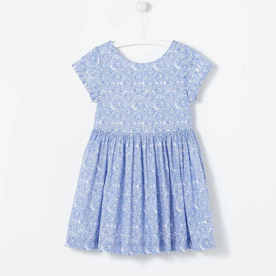 J marque filles coton o-cou robe 3-12 ans robe d'été pour fille vêtements petites filles robes nouvel an robe