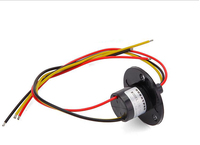 Free Shipping 3 Channel 10A High Current Electric Slip Ring Capsule Slip Ring For High Power