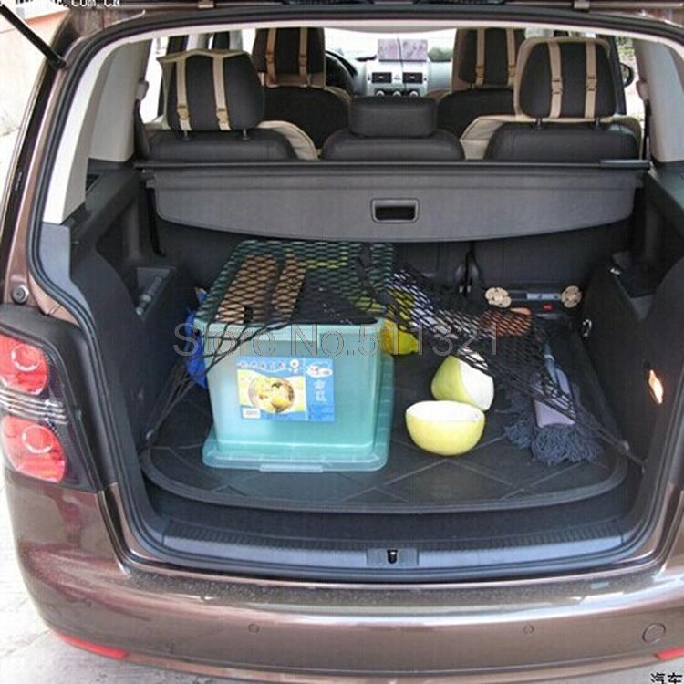 Für Volkswagen VW GOLF6 GTI CC Touran für skoda Octavia AUTO Mesh Gepäcknetz Kofferhalter Elastische Lagerung Nylon Seil Stamm Net