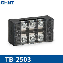 CHINT 25A 3 Position Connection Terminal TB-2503 Group Type Row Link