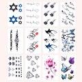 Tatuagem impermeável Colar Tatuagem Temporária Adesivos Para Meninas Homem Bonito 16 Estilos Etiqueta Do Tatuagem Body Art Maquiagem Beleza M02