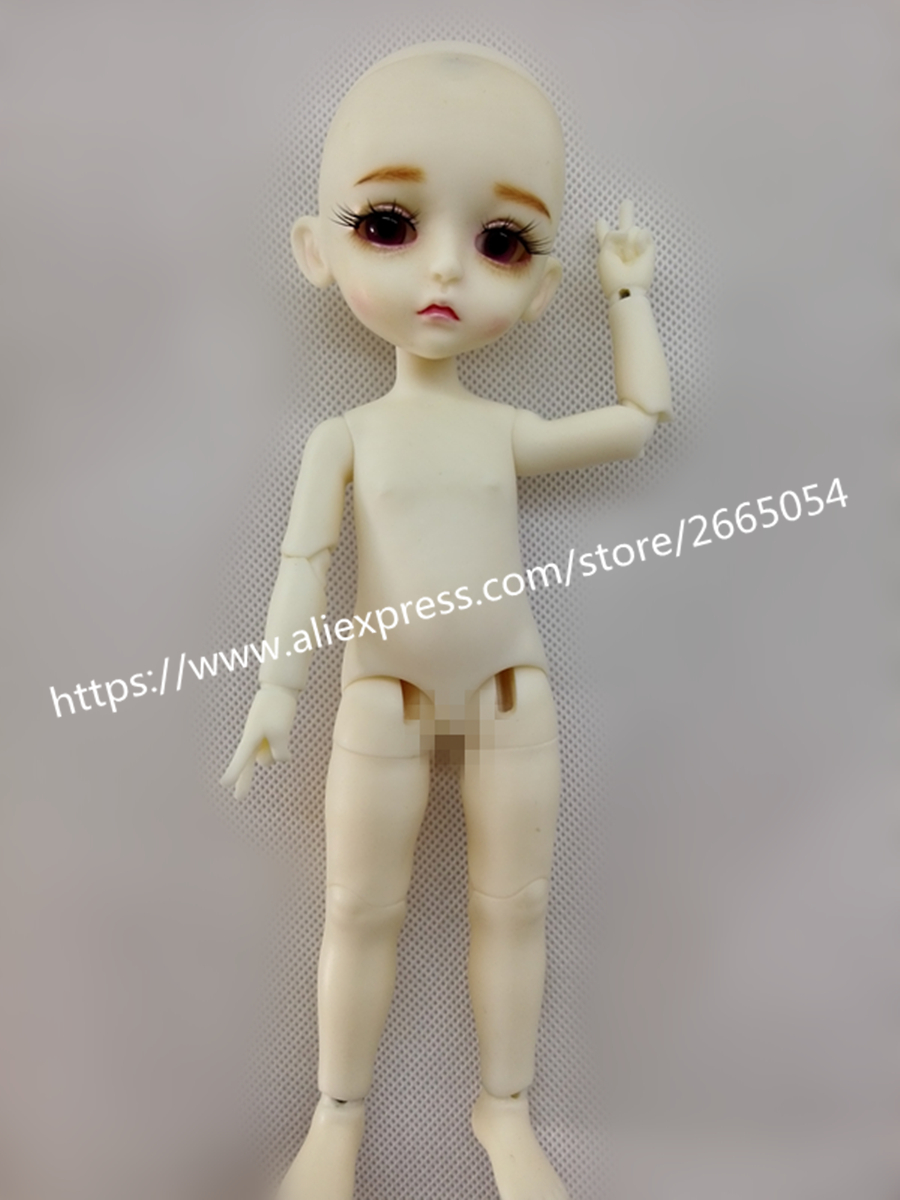 AQK(AQK) 1/8 BJD doll sunlight ample lumi coconut palm doll Free eyes ample hills creamery