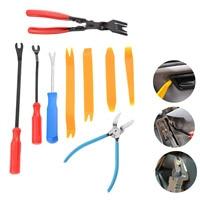 Yetaha 9PCS Car Special Fastener Repair Tools Mutipurpose Diagonal Plier Interior Door Trim Rivets Clip Cutter Pry Remover Kits