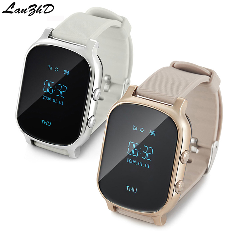 GPS Tracker Smart Watch Kids Personal Locator T58 GSM GPRS Tracking sim card smartwatch children's watches For IOS android Phone leblanc maurice the confessions of arsène lupin