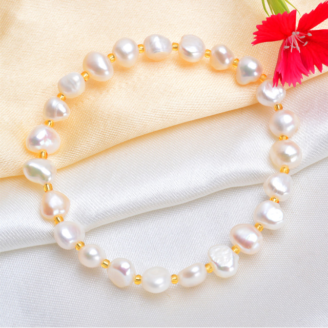 Natural Pearls Bracelet - 6 Colors 1