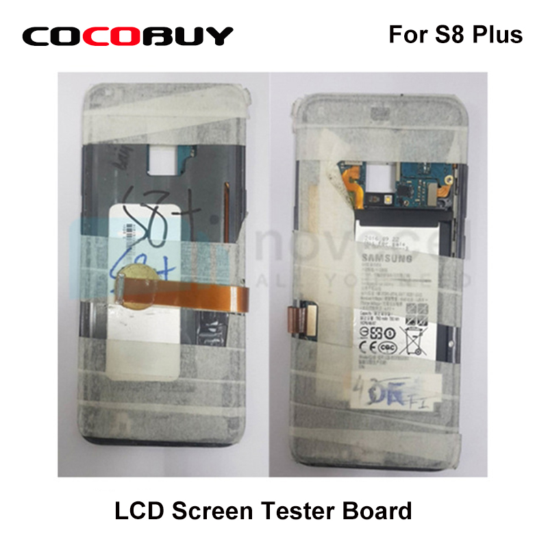 LCD Screen Tester Board with Back Cover Housing for Samsung S8 Plus S8 S7 Edge S6 Edge Plus S6 Edge with Extension Tester Cable цена
