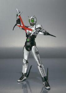 Image 5 - Japan Kamen Masked Rider Original BANDAI Tamashii Nations SHF/ S.H.Figuarts Toy Action Figure   Shadow Moon Ver 1.0