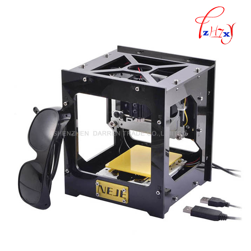 2016 New 300mW USB DIY Laser Engraver Cutter Engraving Cutting Machine Laser Printer Engraving machines laser 1pc robotec new technologies laser cutter 1390 diy laser engraver china low cost cnc laser engraving cutting machine for sale